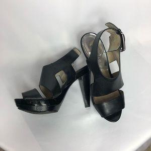 Michael Kors Black High Heel Sandals